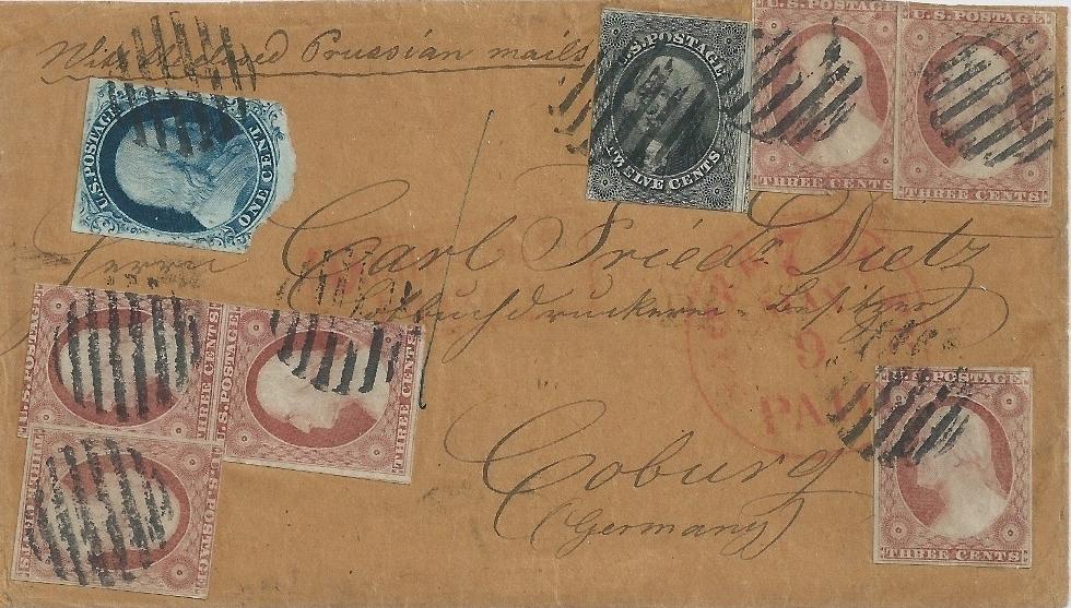 Stamp Carrier for 6 Stamp